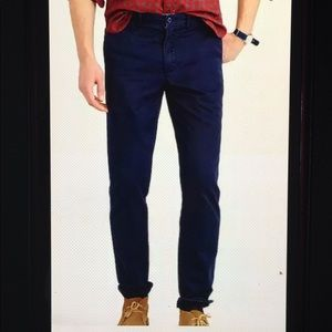 J Crew 770 Straight Fit Flat Broken In Chino Pants